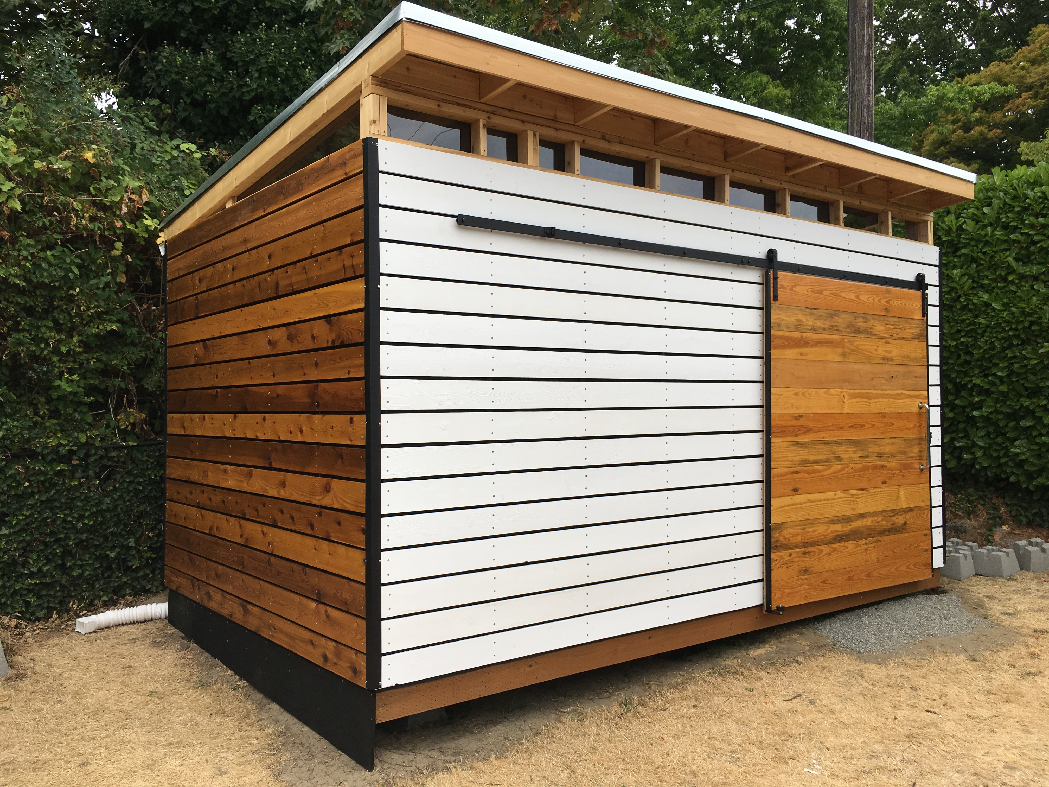Diy Northwest Modern Shed Plan
